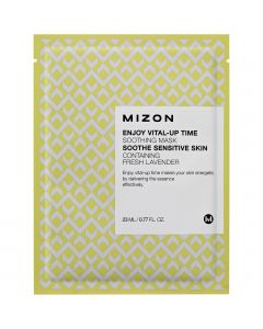 Тканевая маска с лавандой Mizon Enjoy Vital-Up Time Soothing Mask