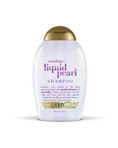 Шампунь для гладкости и блеска OGX Smoothing + Liquid Pearl Shampoo