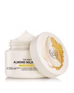 Отшелушивающий крем-скраб для тела The Body Shop Almond Milk & Honey Gently Exfoliating Cream Scrub