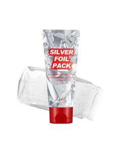 Маска - пленка c экстрактом жемчуга A'PIEU Silver Foil Pack