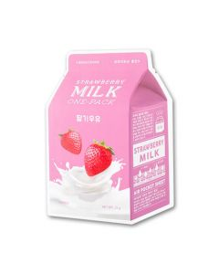 Тканевая маска A'PIEU Strawberry Milk One-Pack (Brightening)