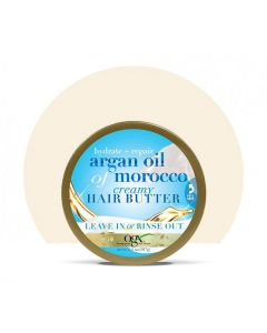 Крем-масло для ослабленных волос OGX Argan Oil of Morocco Creamy Hair Butter
