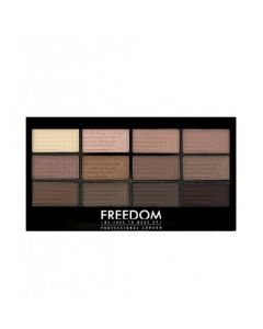 Палетка теней для век Freedom Makeup London Pro 12 Eyeshadow Audacious 3
