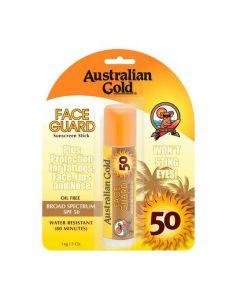Солнцезащитный стик для лица Australian Gold Face Guard Broad Spectrum SPF 50