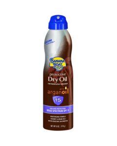 Солнцезащитный спрей с аргановым маслом Banana Boat Protective Dry Oil SPF15