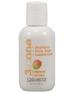 """Шампунь, гель для душа, пена для ванны 3в1 """"Тропическая смесь"""" Giovanni 3 in One Tropical Medley Shampoo"""