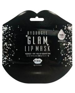 Гидрогелевые патчи для губ с жемчугом Beauugreen Hydrogel Glam Lip Mask Pearl