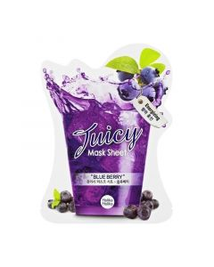 Тканевая маска с натуральными экстрактами Holika Holika Juicy Mask Sheet Blueberry