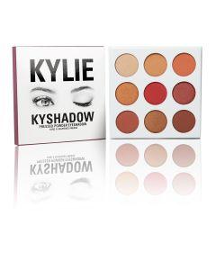 Палетка теней Kylie Kyshadow The Burgundy Palette