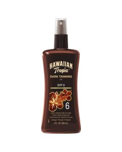 Масло-спрей для загара Hawaiian Tropic Dark Tanning Oil Pump SPF 6