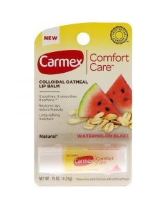 Бальзам для губ в стике Carmex Comfort Care Colloidal Oatmeal Lip Balm Watermelon Blast Stick