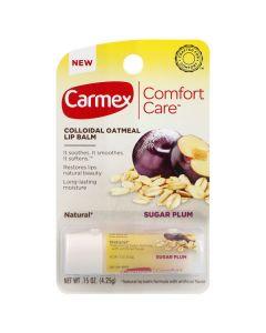 Бальзам для губ в стике Carmex Comfort Care Colloidal Oatmeal Lip Balm Sugar Plum Stick