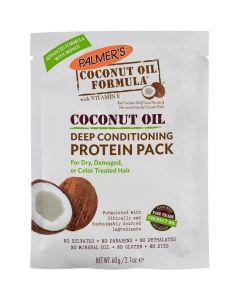 Восстанавливающий кондиционер с кокосовым маслом Palmers Coconut Oil Deep Conditioning Protein Pack