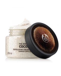 Отшелушивающий скраб для тела The Body Shop Coconut Exfoliating Cream Body Scrub
