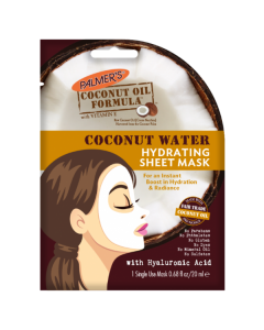 Тканевая маска для увлажнения кожи Palmers Coconut Water Hydrating Sheet Mask