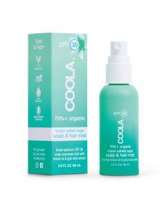 Солнцезащитный спрей для кожи головы и волос Coola Scalp & Hair Mist Organic Sunscreen SPF 30