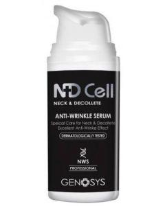 Сыворотка против морщин в области декольте и шеи Genosys ND Cell Anti-Wrinkle Serum