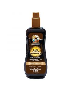 Ускоритель загара с бронзером Australian Gold Dark Tanning Accelerator Spray Gel with Bronzers