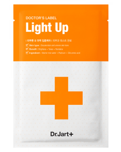 Маска для лица Dr.Jart+ Doctor's Label Light Up Derma Intensive Whitening Care Pack