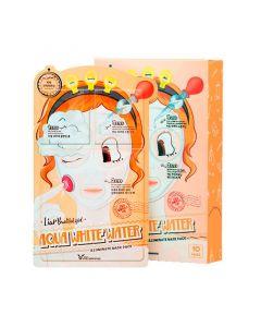 Маска трехступенчатая осветляющая и увлажняющая Elizavecca Aqua White Water Illuminate Mask