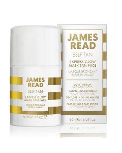 Экспресс маска для лица с эффектом загара James Read Express Glow Mask Tan Face