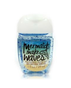 Антибактериальный гель для рук Bath & Body Works PocketBac Mermaids Make Waves (Water Lily) Sanitizer