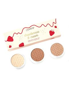 Набор теней для век ColourPop Strawberries & Cream