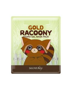 Гидрогелевая маска для лица Secret Key Gold Racoony Hydro Gel Mask Pack