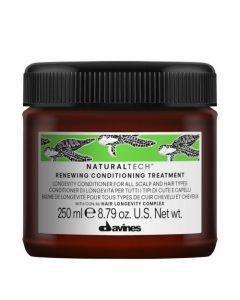 Обновляющий кондиционер против старения кожи головы и волос Davines Natural Tech Renewing Conditioning Treatment