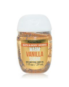 Антибактериальный гель для рук Bath & Body Works PocketBac Must Have - Warm Vanilla Sugar