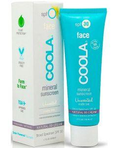 Минеральный матирующий крем для лица Coola Face Matte Tint SPF 30 Mineral Suncreen Unscented
