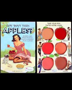 Палетка кремовых помад и румян TheBalm How 'Bout Them Apples?