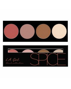 Румяна для лица L.A. Girl Beauty Brick Blush Collection Spice