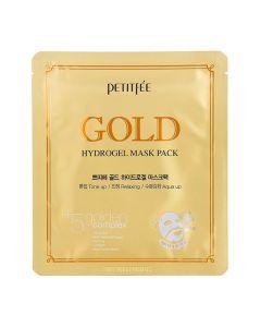 Гидрогелевая маска для лица с золотым комплексом PETITFEE Gold Hydrogel Mask Pack +5 golden complex