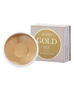 Гидрогелевые патчи для глаз с золотом Petitfee&Koelf Gold&EGF Eye&Spot Patch