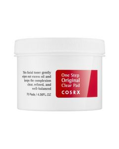 Спонжи с ВНА-кислотами COSRX One Step Original Clear Pad