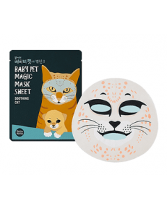 Тканевая маска Holika Holika Baby Pet Magic Mask Sheet Soothing Cat