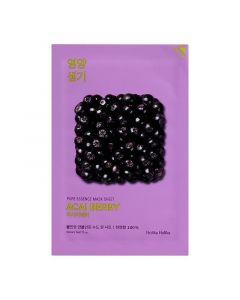 Тканевая маска для лица с ягодами асаи Holika Holika Pure Essence Mask Sheet Acai Berry