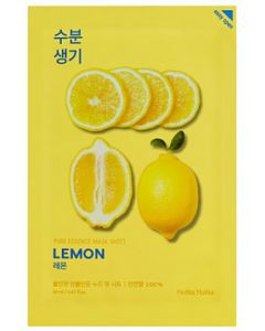 Тканевая маска для лица с экстрактом лимона Holika Holika Pure Essence Mask Sheet Lemon