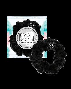 Тканевая резинка-браслет для волос Invisibobble Sprunchie True Black
