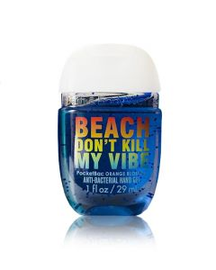 Антибактериальный гель для рук Bath & Body Works PocketBac Message In A Bottle - Beach Don't Kill My Vibe Sanitizer
