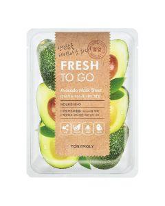 Тканевая маска с авокадо Tony Moly Fresh To Go Mask Sheet Avocado