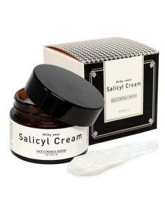 Крем для лица салициловый с эффектом пилинга Elizavecca Sesalo Salicyl Cream