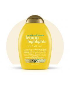 Шампунь для блеска OGX Lemon Highlights Shampoo