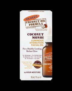 Увлажняющее масло для лица с монои Palmers Coconut Monoi Luminous Hydration Facial Oil