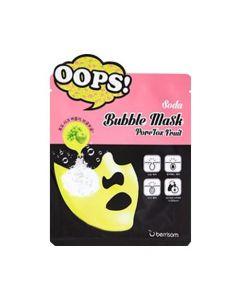 Маска-пилинг для очищения пор Berrisom Soda Bubble Mask PoreTox Fruit