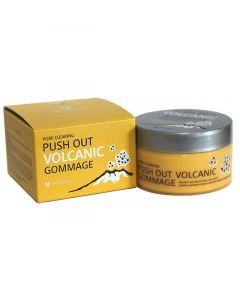 Гоммаж с пеплом вулкана от черных точек MIZON Push Out Volcanic Gommage
