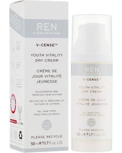 Оживляющий дневной крем Ren V-Cense Youth Vitality Day Cream