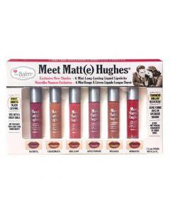 Набор матовых помад theBalm Meet Matte Hughes® Set Mini Kit Vol. 2