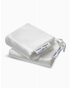Двухстороннее полотенце для лица и шеи MON MOU